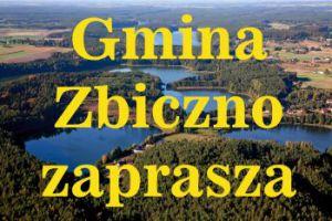 gmina zbiczno zaprasza - baner