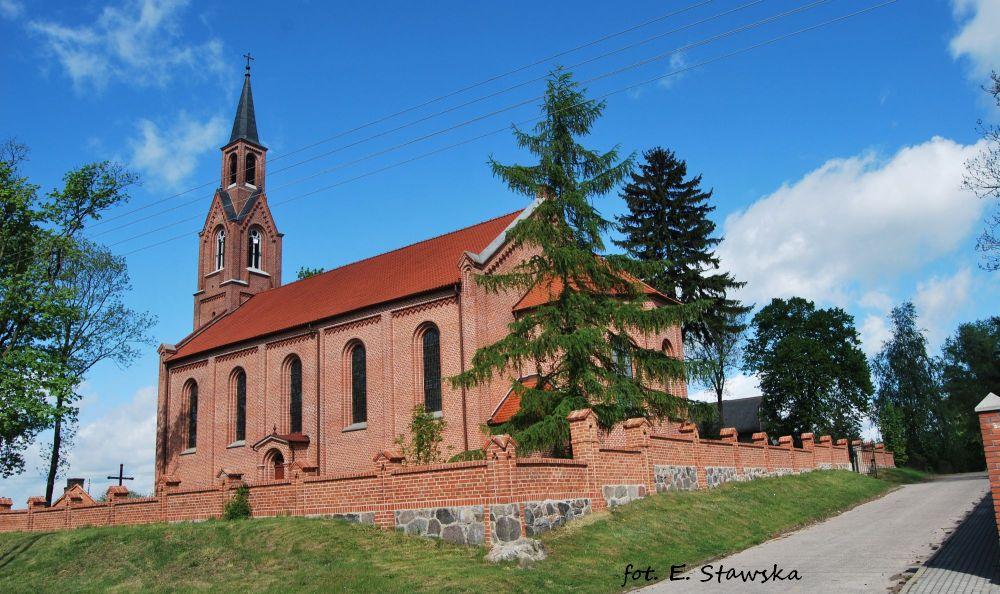 Kościół p.w. Niepokalanego Poczęcia NMP w Pokrzydowie