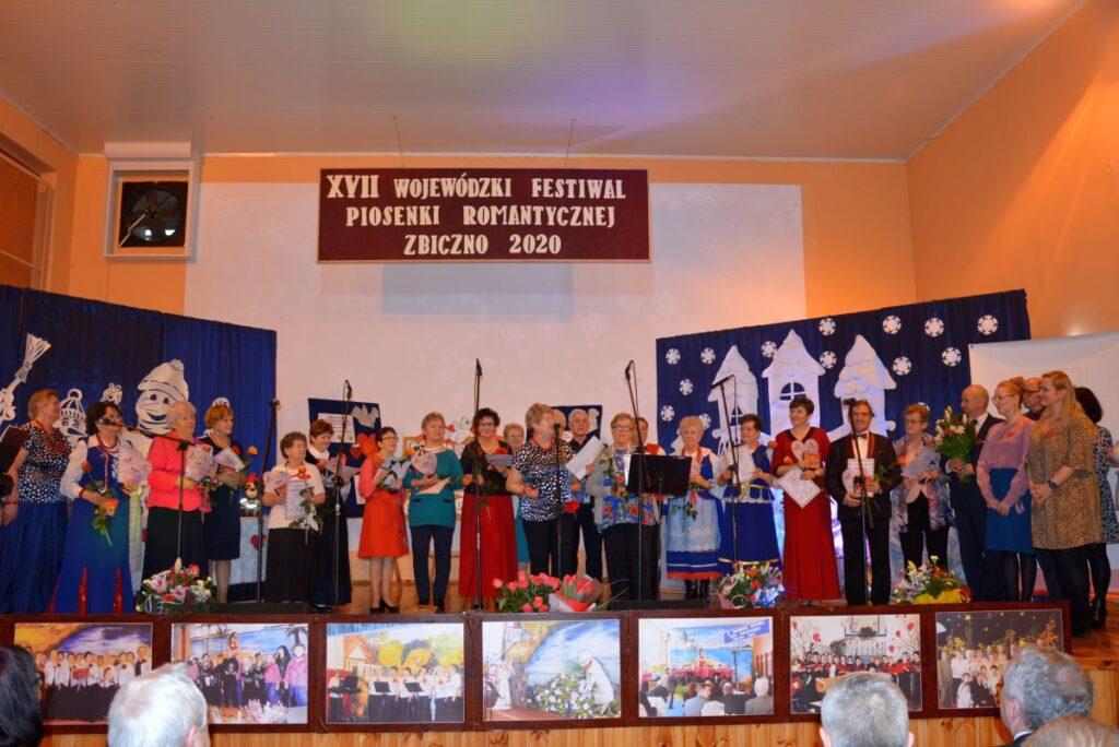 XVII Wojewódzki Festiwal Piosenki Romantycznej w Zbicznie