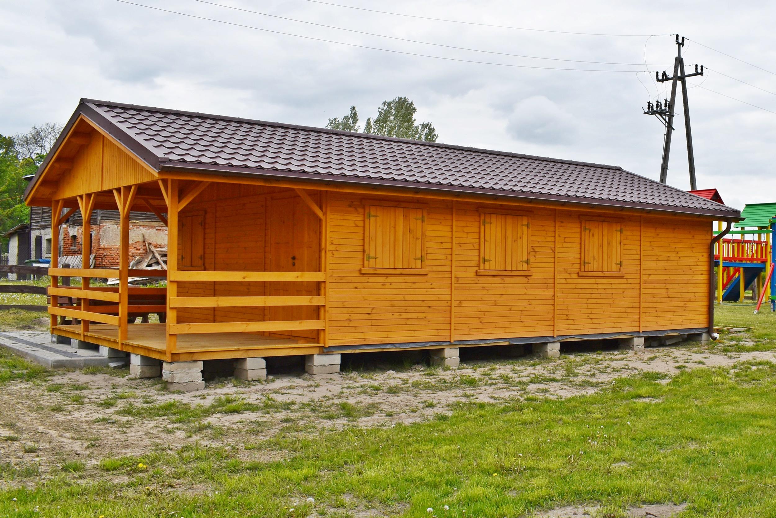 Budynek rekreacyjny wSumówku