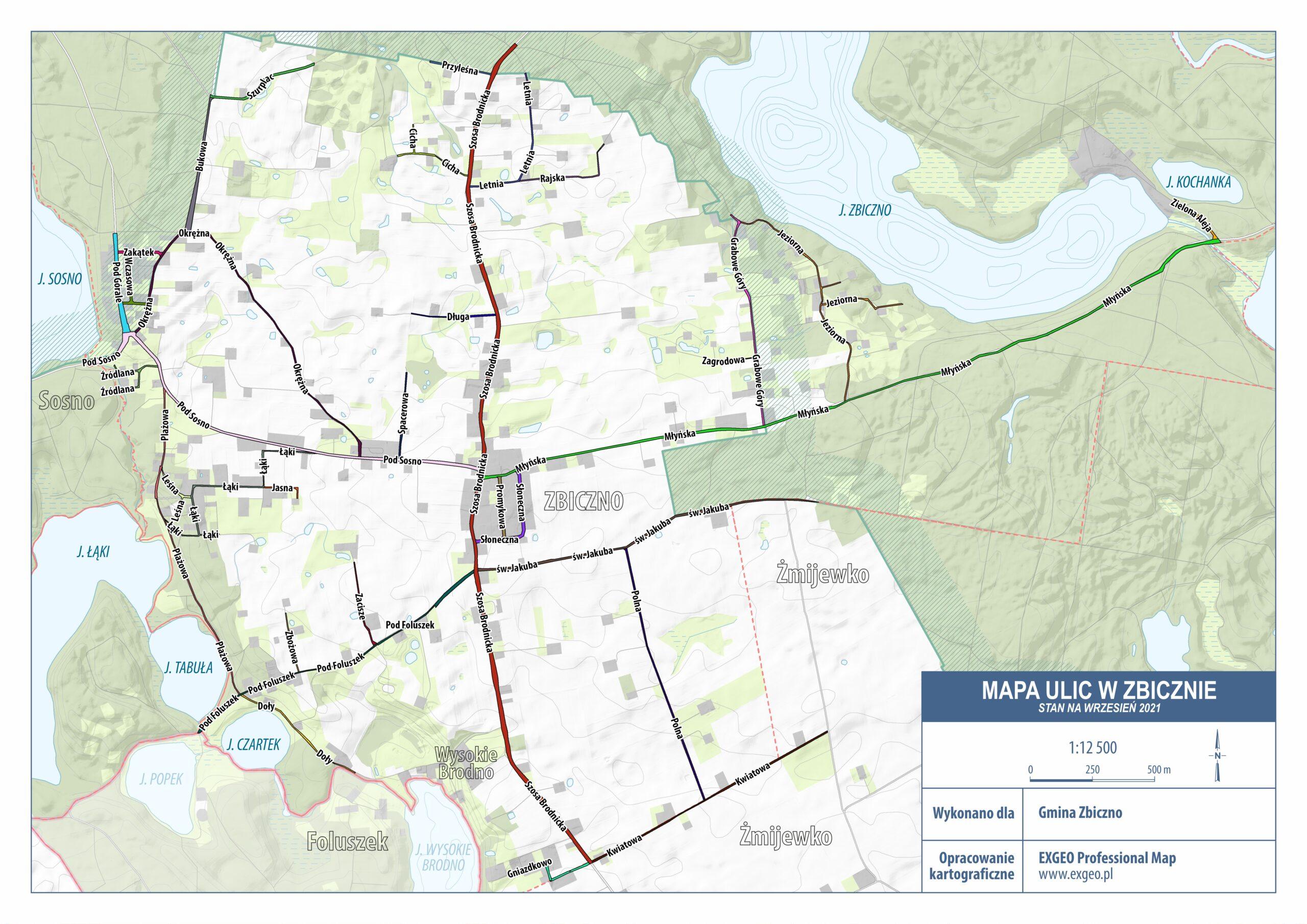 Mapa ulic